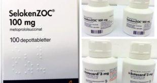 Hjärtmedicinen Seloken Zoc dras in